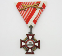Austrian Military Merit Cross with War Decoration