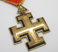 Massachusetts Consistory Masonic Scottish Rite 32nd Degree Jewel