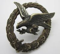 Luftwaffe Radio Operator/Air Gunner Badge by BSW