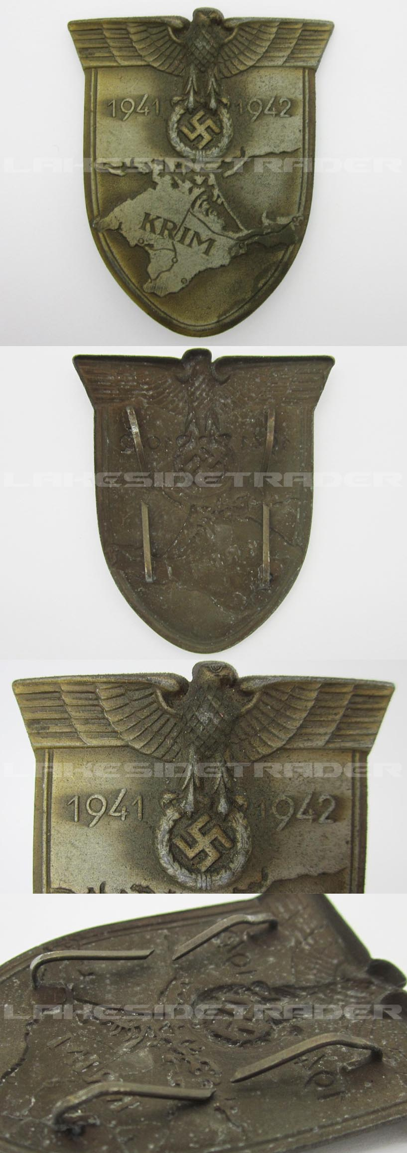 Krim Campaign Arm Shield by W. Deumer