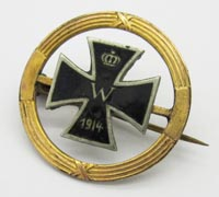 Imperial Iron Cross Pin