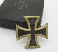Cased and Personalized Imperial 1st Class Iron Cross