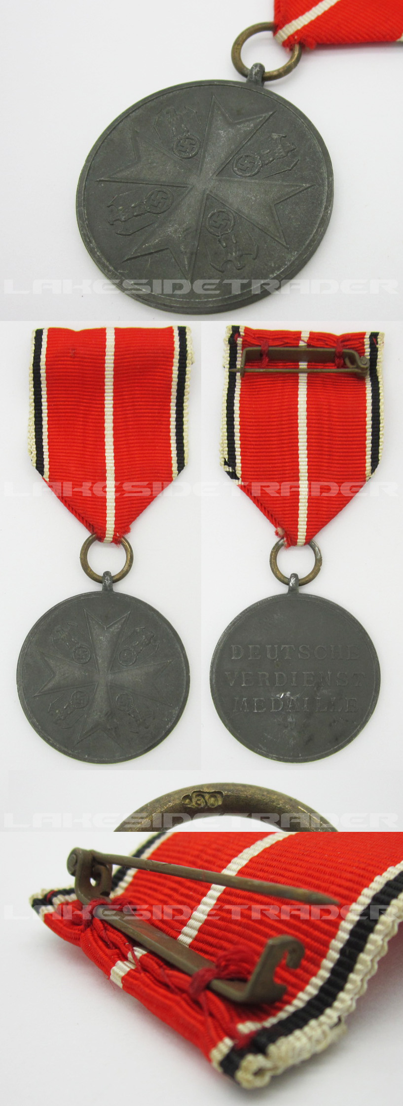 Order of the German Eagle Bronze Medal of Merit by 100