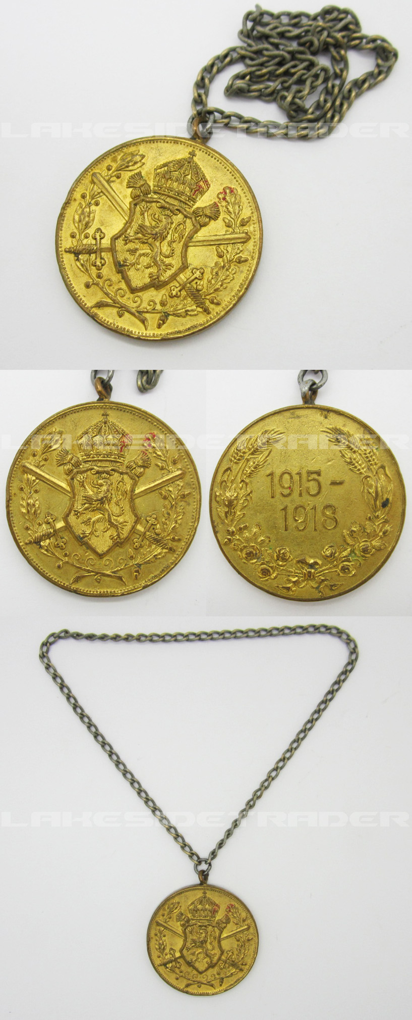 Bulgarian Commemorative War Medal 1915-1918
