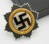 Cased Gold German Cross by Zimmermann