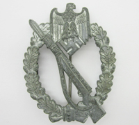 Silver Infantry Assault Badge by S &L