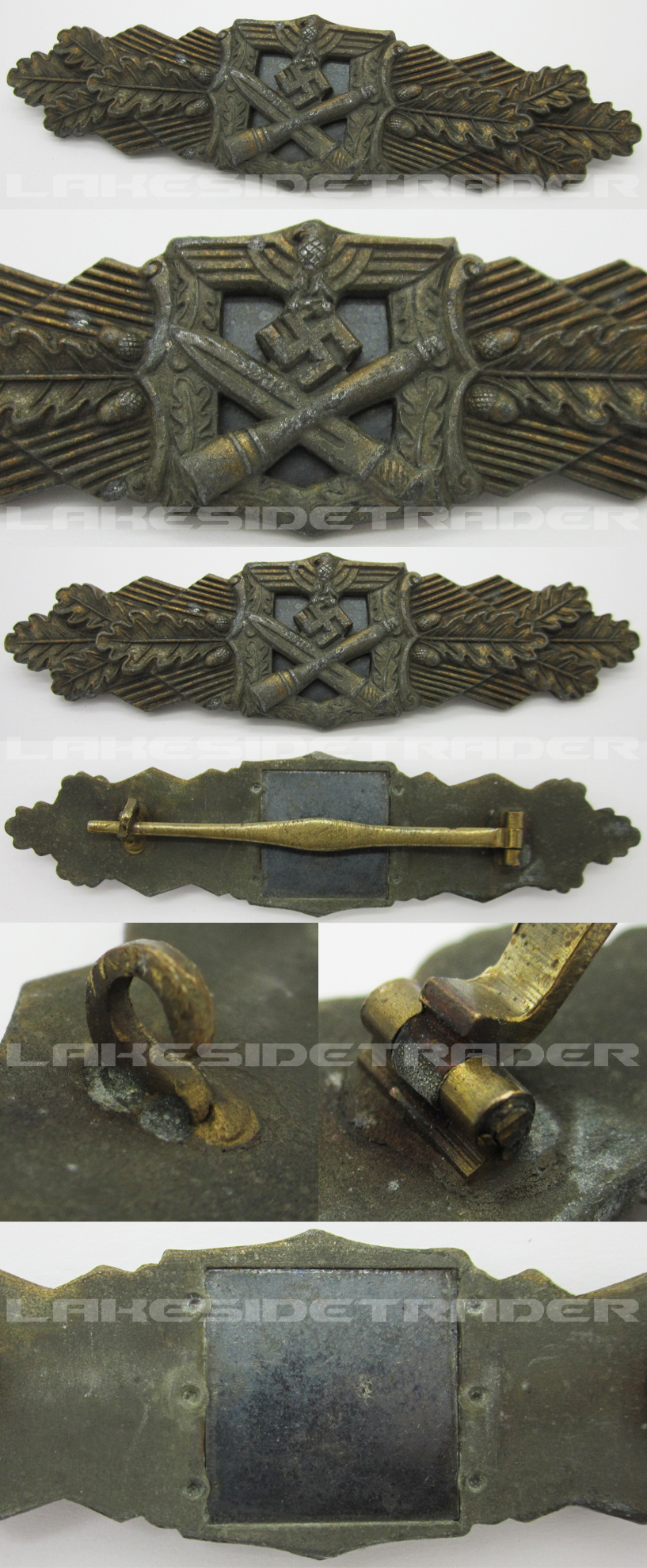 Bronze Close Combat Clasp