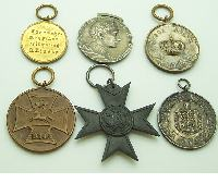 Group of 6 Imperial Era medals