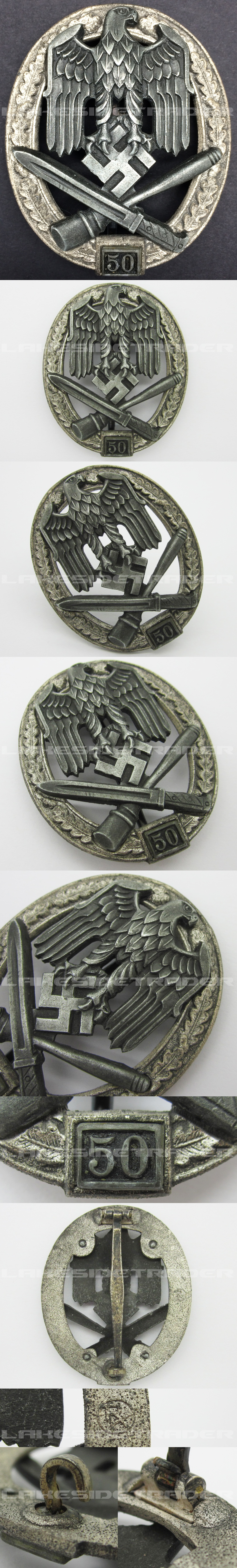 Grade III General Assault Badge by RK