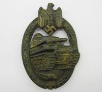 Bronze Panzer Assault Badge by R.K.