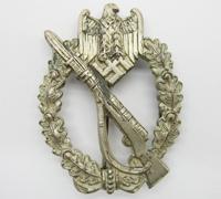 Silver Infantry Assault Badge by Franke & Co.