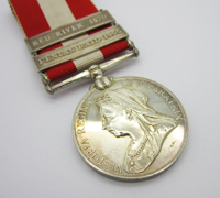 Canada General Service Medal, Fenian Raid & Red River Bars