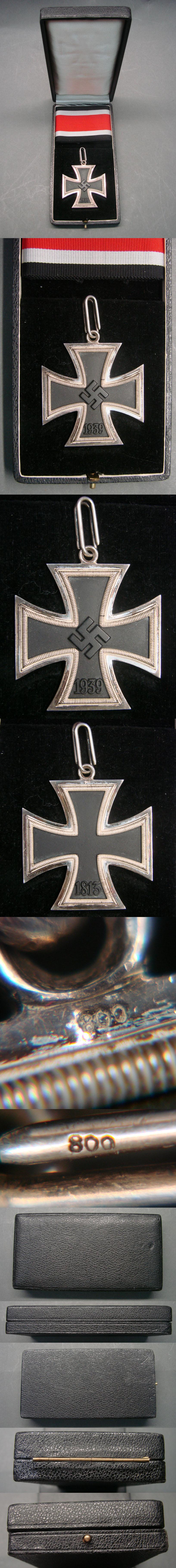 Frosty Steinhauer & Luck Knights Cross