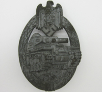 Silver Panzer Assault Badge by R.S.S.