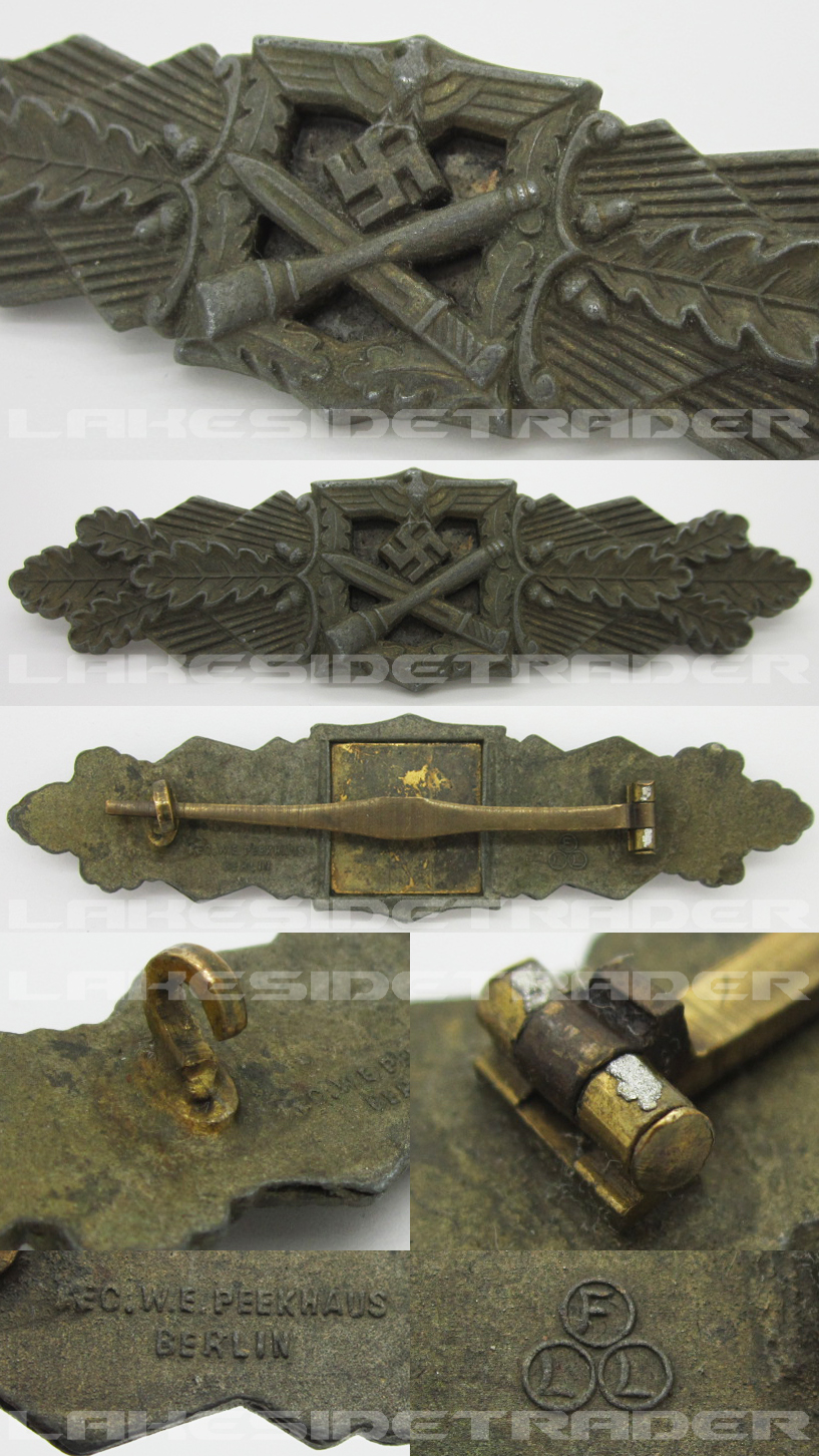 Bronze Close Combat Clasp by FLL