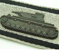Tank Destruction Strip in Silver