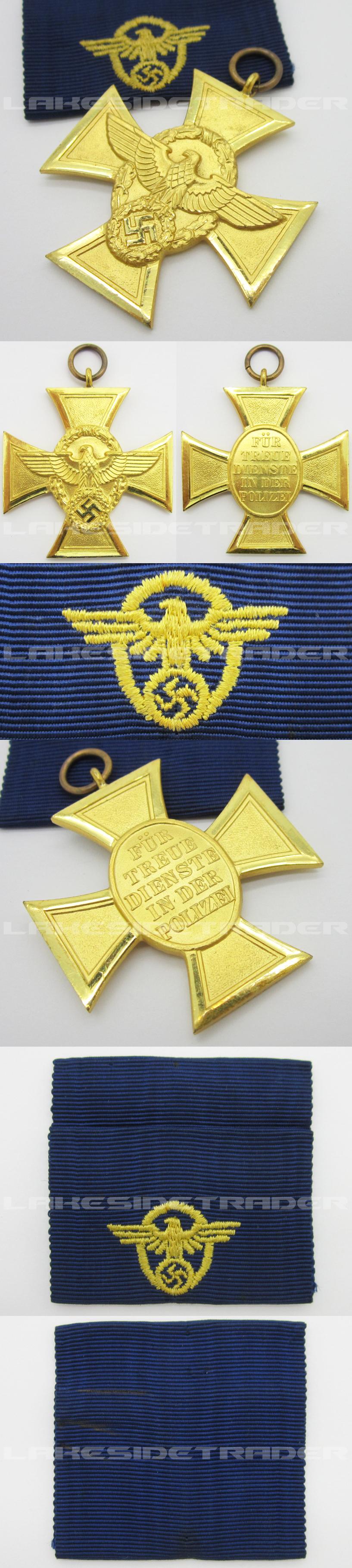 25 Year Police Long Service Award