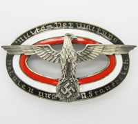 Military Administration of Belgium and France Badge