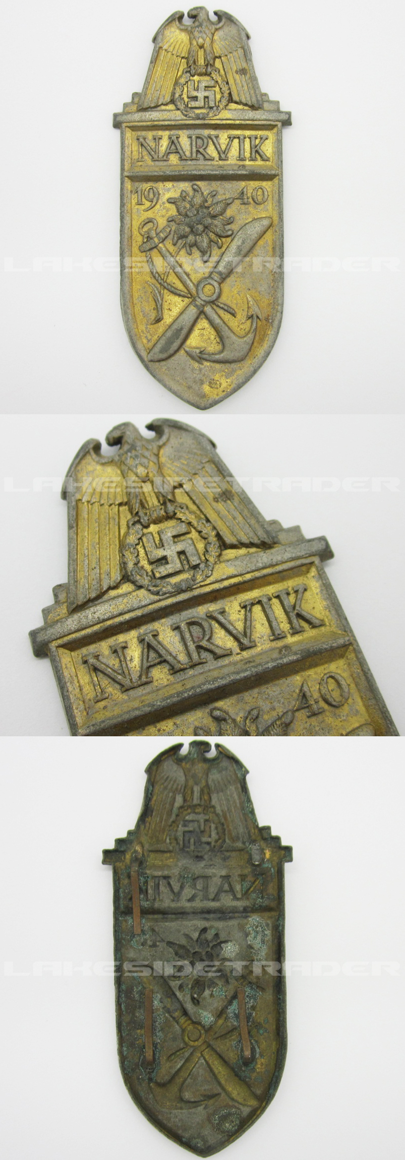 Navy Narvik Campaign Arm Shield
