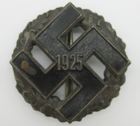 NSDAP General Honor Gau Badge 1925
