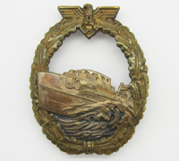 1st Pattern E-Boat Badge by Schwerin
