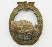 1st Pattern E-Boat Badge by Schwerin