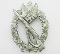 Silver Infantry Assault Badge by F. Wiedmann