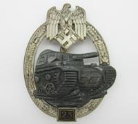Grade II Silver Panzer Assault Badge by JFS