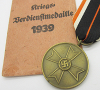 1939 War Merit Medal w Packet