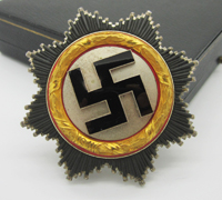 Cased Gold German Cross by 134