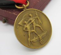 Cased Sudetenland Commemorative Medal