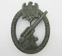 Army Flak Badge by W.H.