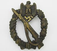 Bronze Infantry Assault Badge by JFS
