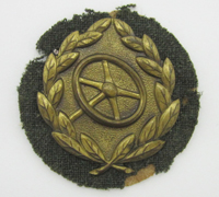 Bronze Drivers Proficiency Badge