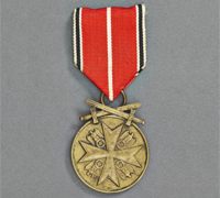 Order of the German Eagle Medal Bronze Merit Medal with Swords