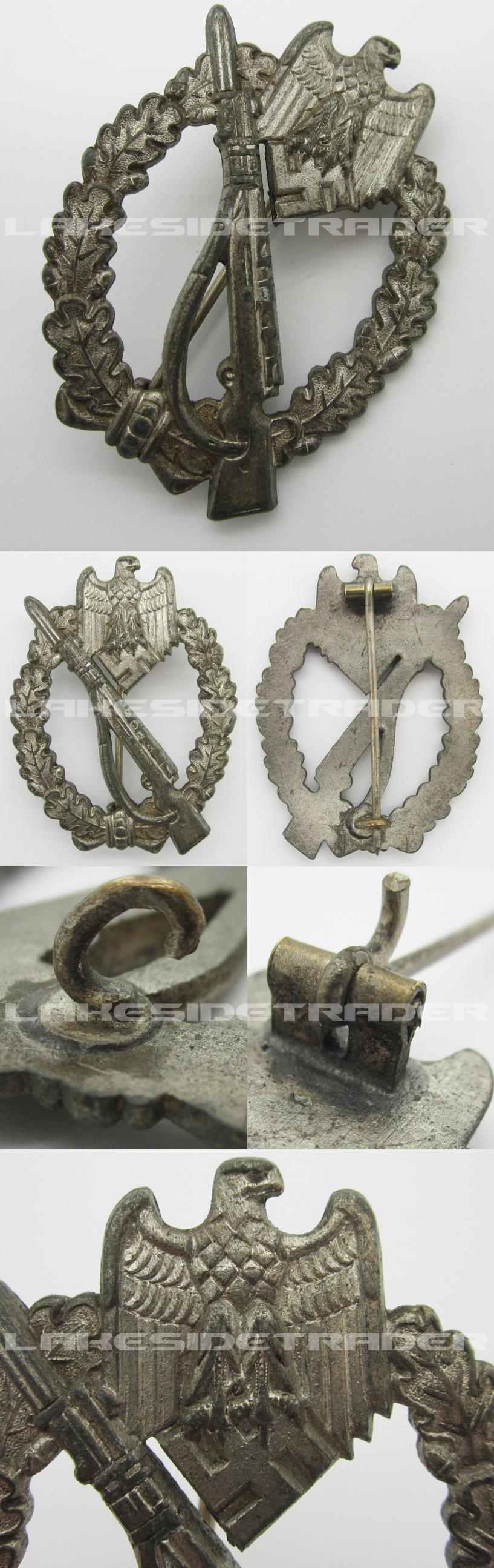 Silver Infantry Assault Badge