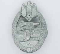 Silver Panzer Assault Badge