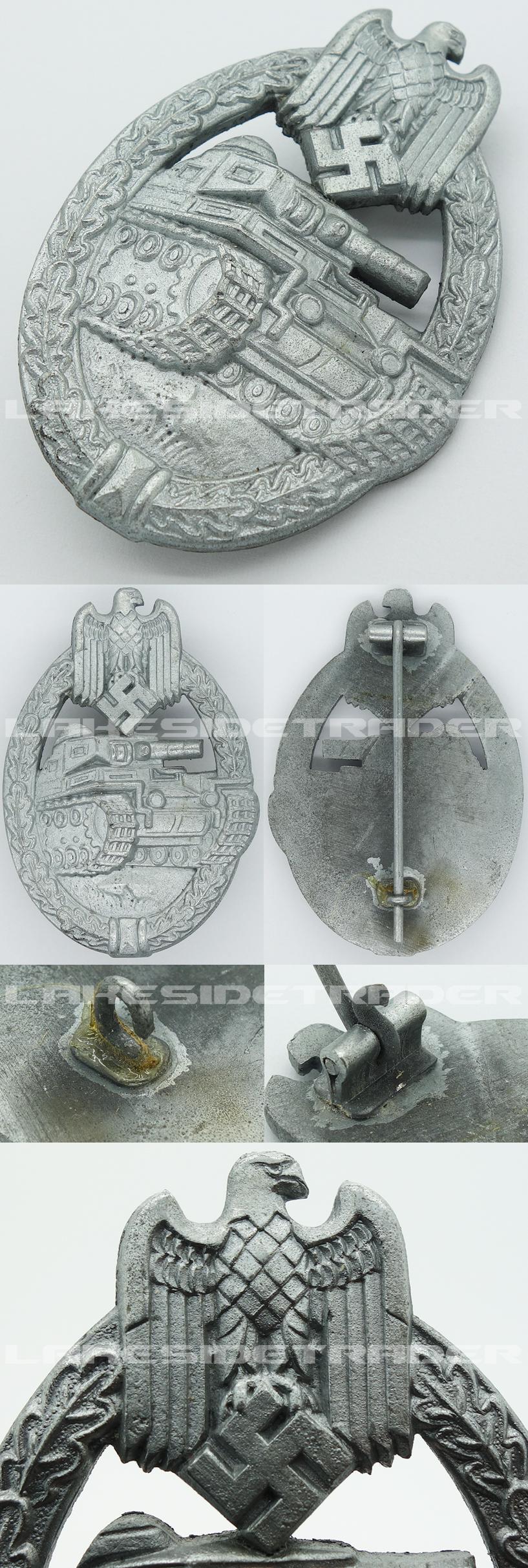 Silver Panzer Assault Badge