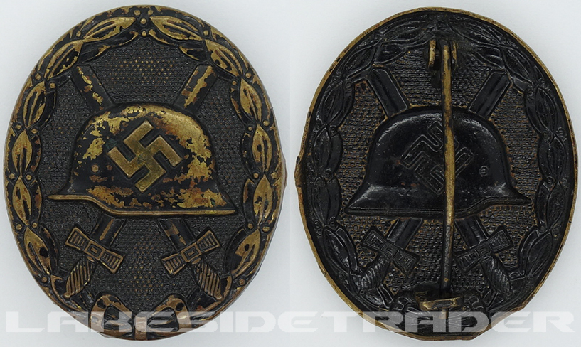 Black Wound Badge