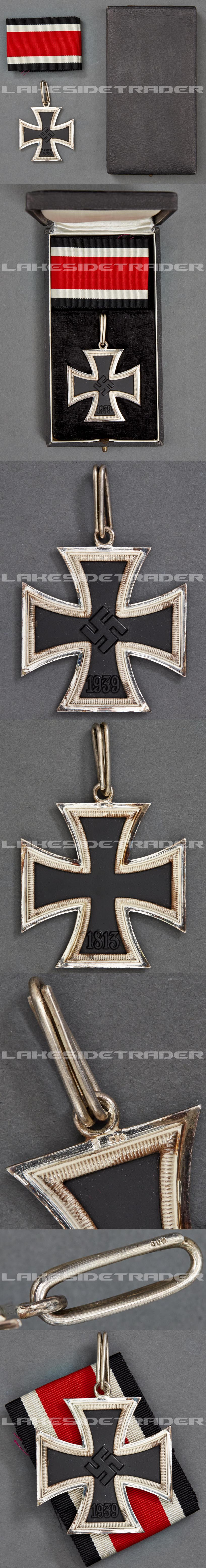 A Knights Cross Iron Cross 1939 by Steinhauer & Luck in its Original Case