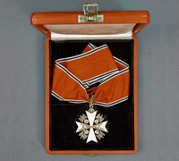 A Cased 1939 German Eagle Order 1st Class with Swords by Godet