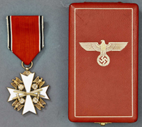 A Cased 1939 German Eagle Order 3rd Class with Swords by Godet