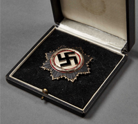 A German Cross in Silver in its  Original Case of Issue