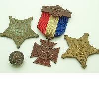 Civil War 4pc Medal Group