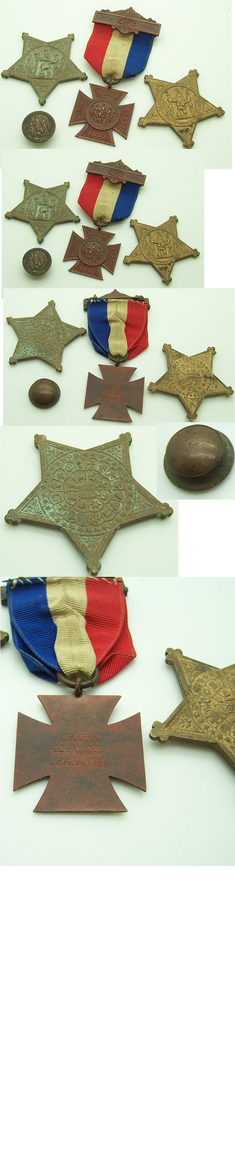 Civil War 4pc Medal Group