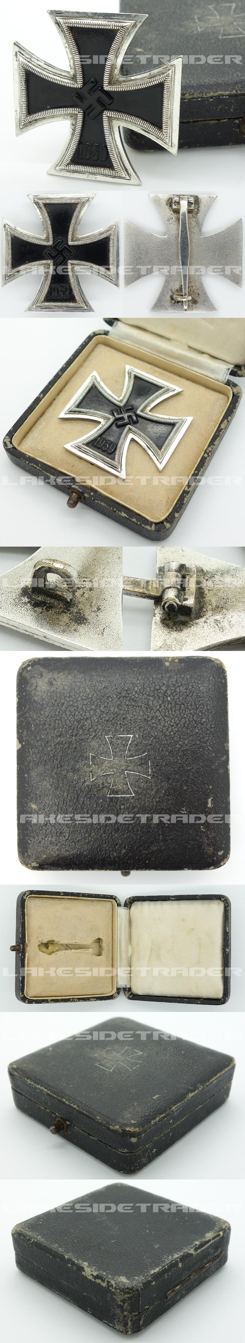 1st Class Iron Cross by Steinhauer & Lück