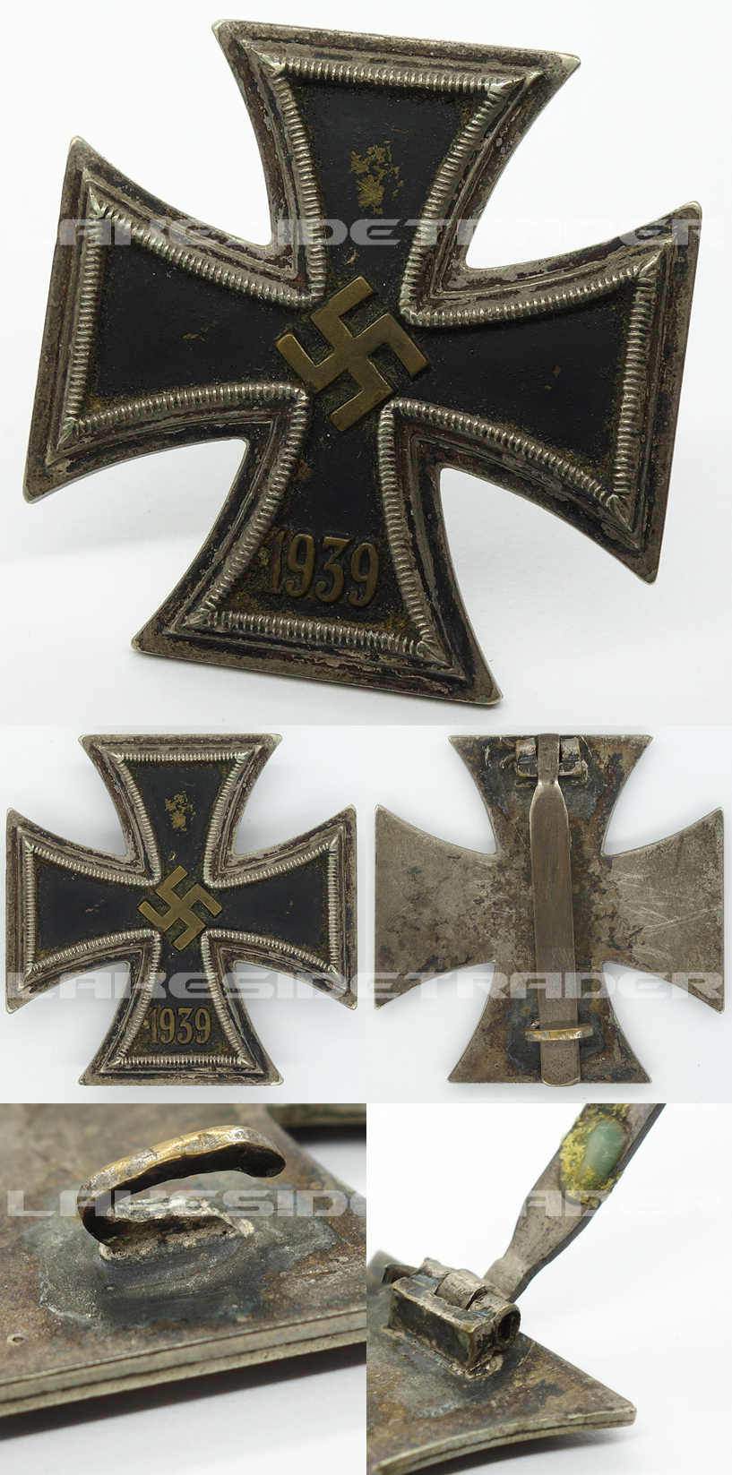Early 1st Class Iron Cross by R. Souval