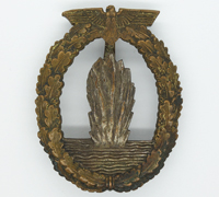 Navy Minesweeper Badge