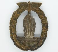 Navy Minesweeper Badge
