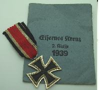 2nd Class Iron Cross by 65 with Packet